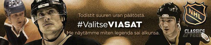 NHL Classics - Viasat Hockey Finland -kanavalla