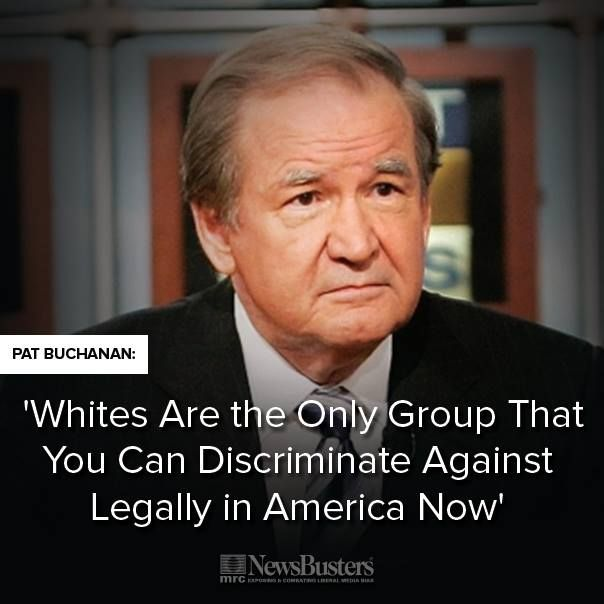 Whites are the only group that you can discriminate against legally in America now.