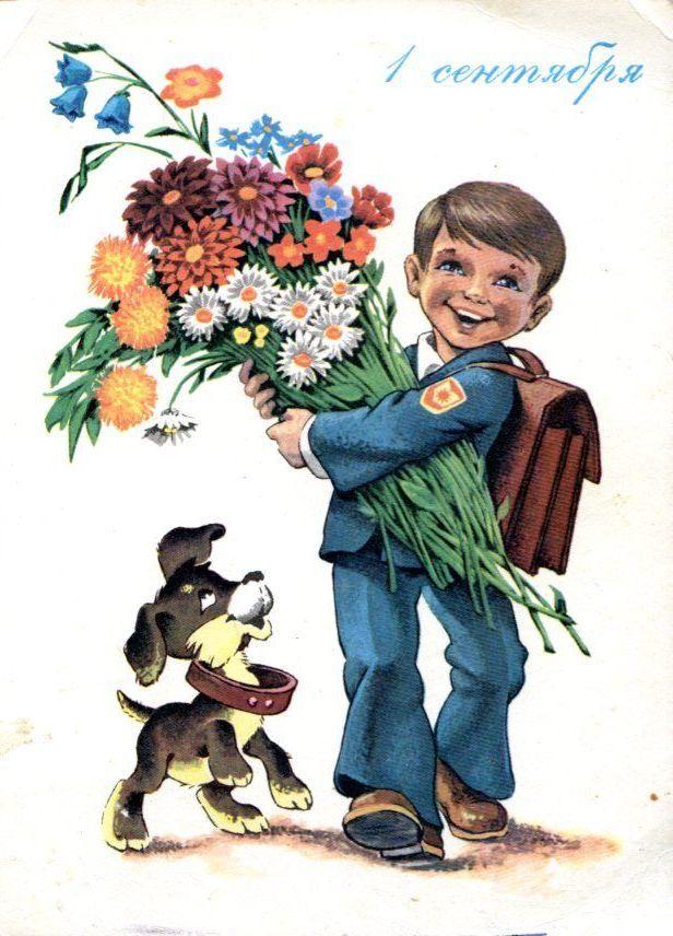 Открытки школьнику, открытках