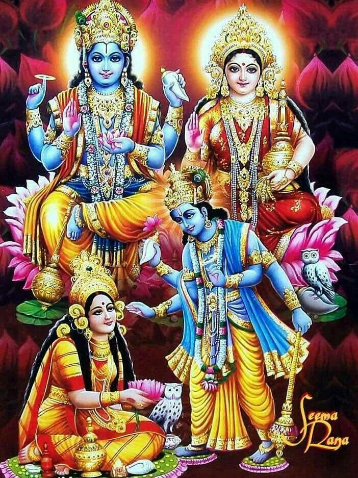 593 best lord vishnu and goddess lakshmi images on