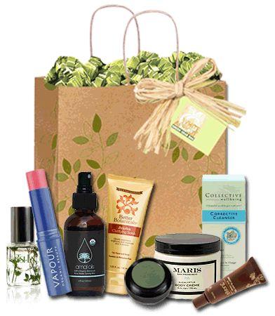 Green Grab Bag .. eco-friendly, organic and vegan skin care samples