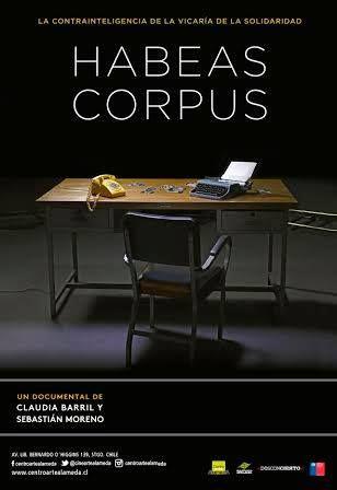 Documental HABEAS CORPUS, dirigido por Claudia Barril (1970)  ,docente de la Escuela de Cine de la Universidad Mayor, y Sebastián Moreno (1972). #Cine #Arte #Cinearte #UMayor -