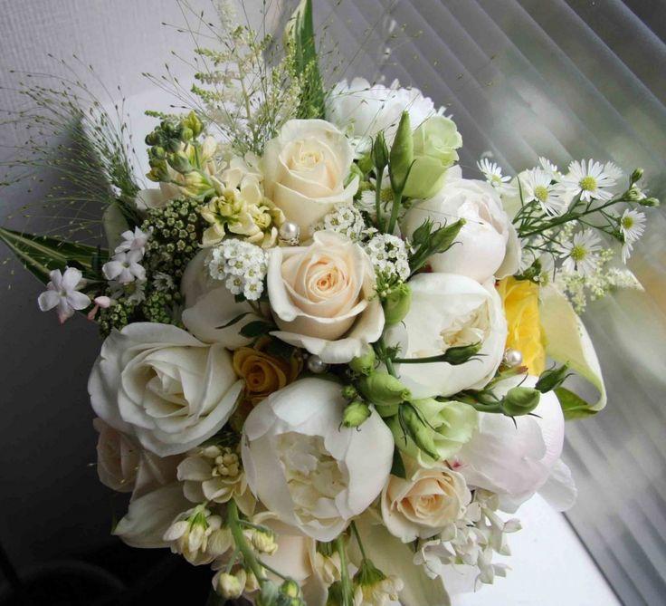 Gold Bridal Bouquets