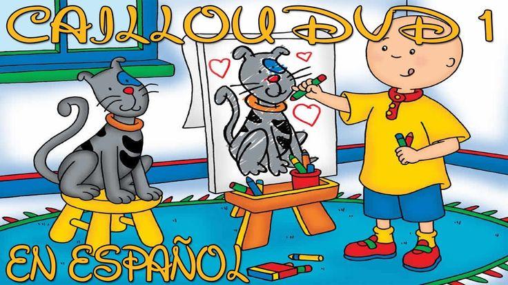 Caillou DVD 1 En Español Dibujos Pekes HD DIBUJOS INFANTILES