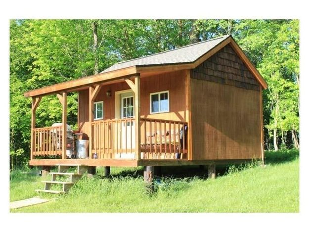 543 Best Tiny Houses Images On Pinterest Sheds Garden