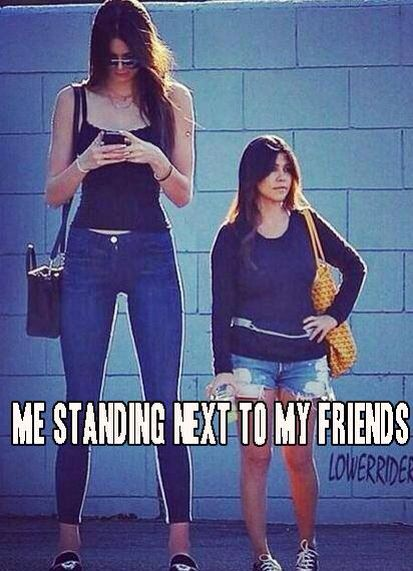 this is seriously me standing next to.. EVERYBODY!!!!! haha I am the super tall one