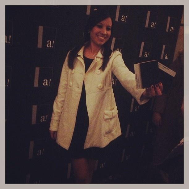 Ileana García  Coordinadora de Proyectos Recibió personalmente ambos premios