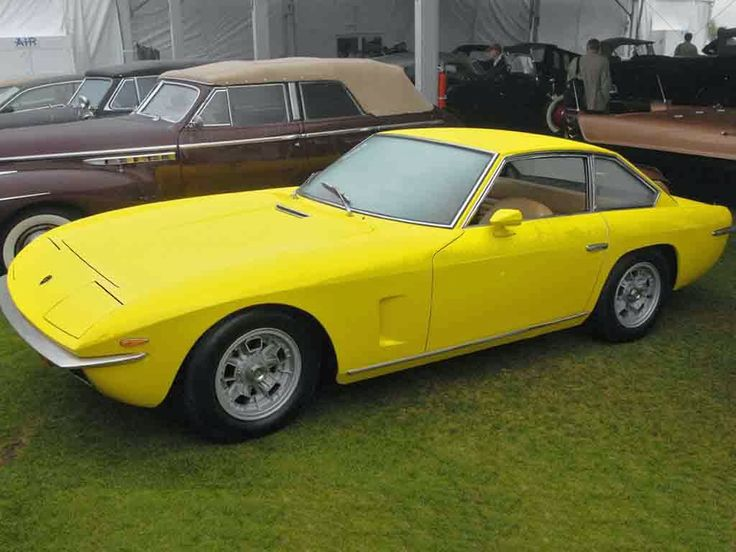 Mobil Keren Lamborghini Islero Yellow Front Side View - LGMSports.com