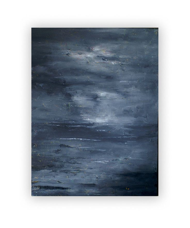 "' Stormy""  oil by vindadamona"