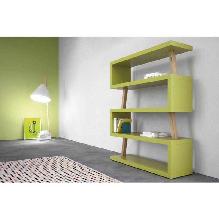 O ancora la mensola flisat con un elemento contenitore per. Snake Coloured Bookcase For The Kids Bedroom Scaffale Per Libri Camera Da Letto Bambini Arredamento