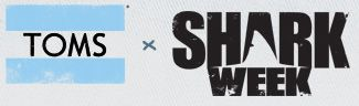 TOMS partners with Shark Week to bring you limited edition shark shoes #toms
