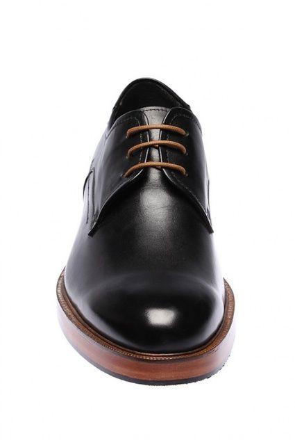 İnci Hakiki Deri Siyah Erkek Ayakkabı 120119987014