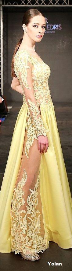 Rabih Edris couture 2016 spring summer