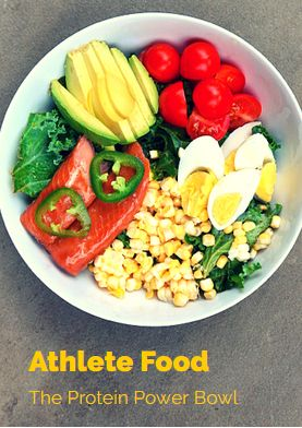 Athlete Food: The Protein Power Bowl -