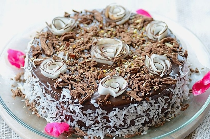 Chocolate-Coconut Cheesecake...Yummmmmmmm!!!!: Brazilian Food, Chocolates, Dessert Recipes, Coconut Cheesecake, Brazilian Recipes, Favorite Recipes, Cheesecake Recipes, Prestígio Cheesecake, Brazilian Cuisine