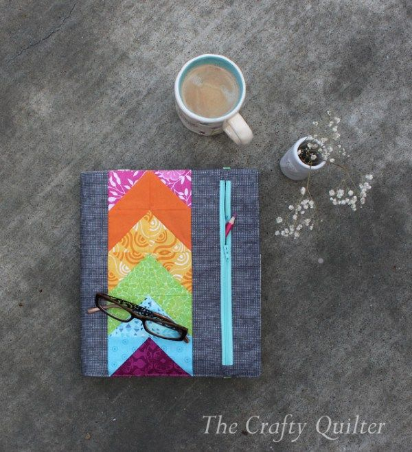 My Zippy Quilter's Planner Cover | The Crafty Quilter | Bloglovin'