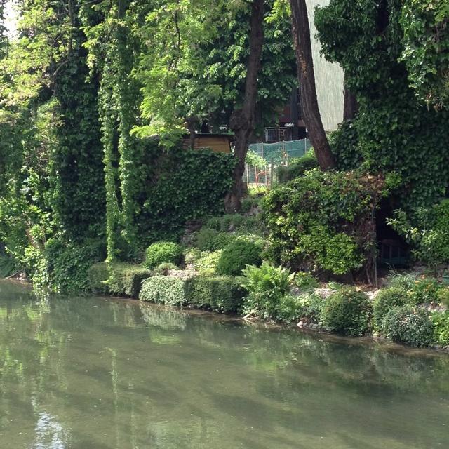 Il naviglio Martesana, niente locali ma verde verde verde
