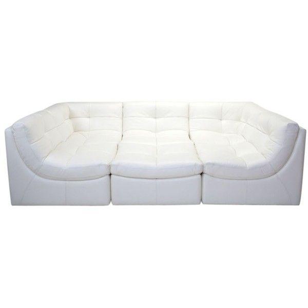 cloud modular sectional white
