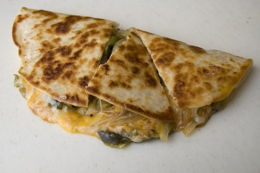 taco bells quesadillas havent tried trying tonight