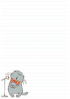 It's A Wonderful World: странички для блокнотов
