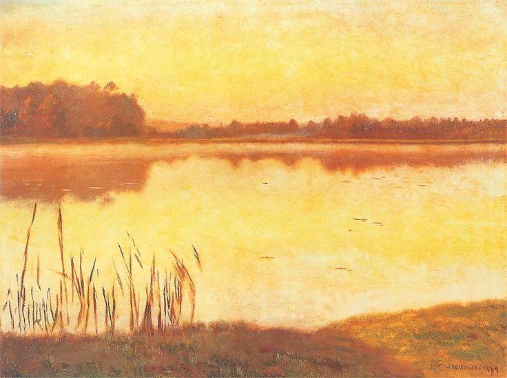http://www.pinakoteka.zascianek.pl/Chelmonski/Images/Staw_w_Radziejowicach.jpg