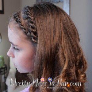 Pretty Hair is Fun: Double Rope Twist Braids Hairstyle