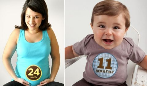 Kinda cool way to document your baby.