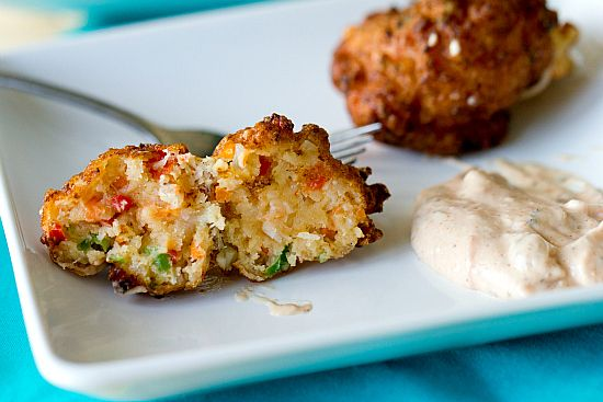 Conch Fritters l Recipe and Dipping Sauce l www.CarolinaDesigns.com