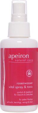 Apeiron Rose Water Vital-Spray