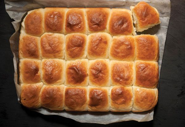 """These doughy homemade potato rolls may look like """"the cheap grocery-store doughy rolls that your grandma serves,"""" they taste nothing like them. Instead, they're smooth and airy—the closest you'll come to fluffy little pillows of baked mashed potatoes."""