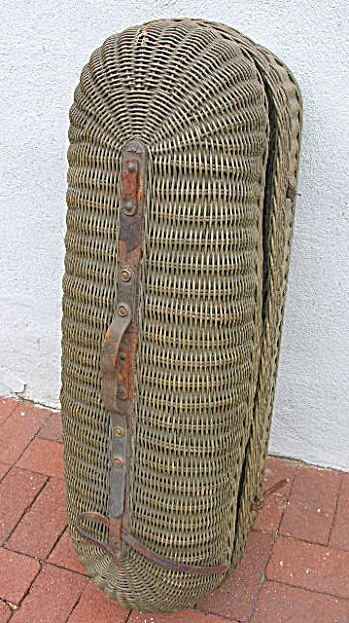 Antique Victorian Basket...great coffin idea and biodegradable