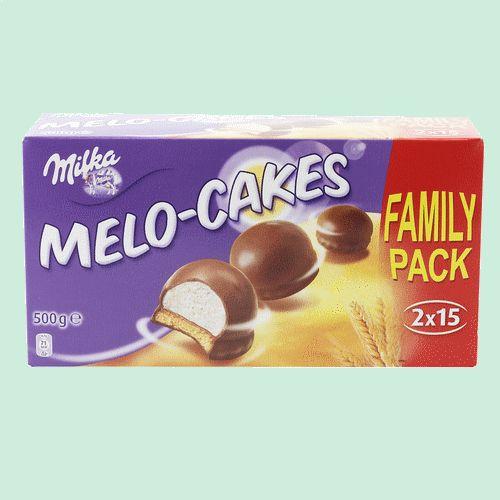 MILKA 30 Melo Cakes 500gr
