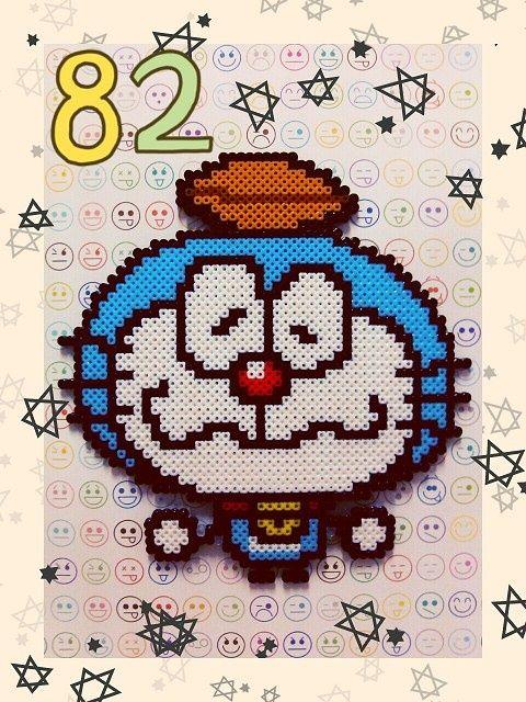 Doreaemon hama perler by Ryoko