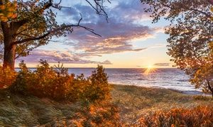 Groupon - Stay at Drummond Island Resort & Conference Center in Drummond, MI. Dates into December. in Drummond Island, MI. Groupon deal price: $68
