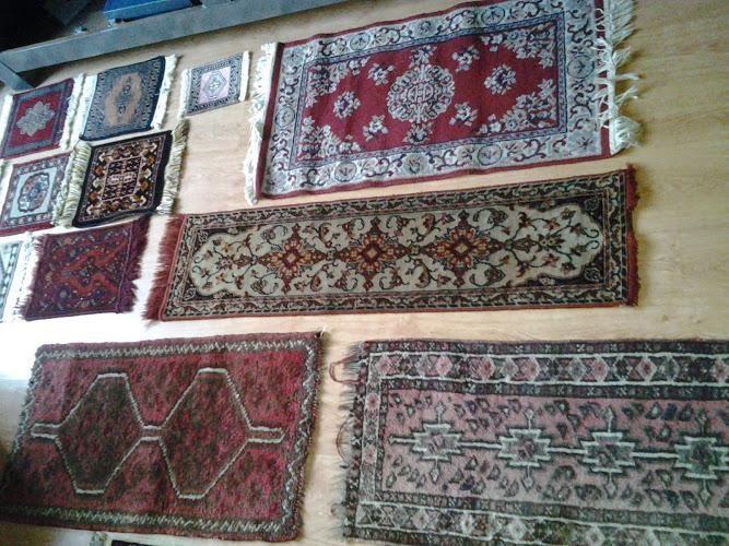 partij Perzisch tapijt kleed tafelkleed loper vloerkleed: http://link.marktplaats.nl/m919109203