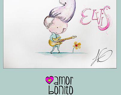 "Check out new work on my @Behance portfolio: ""Amor bonito elvis"" http://be.net/gallery/51641661/Amor-bonito-elvis"