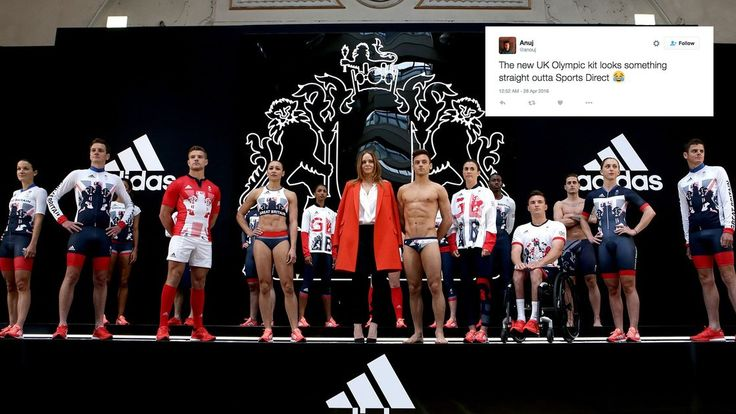 Not everyone's a fan of Team GB's new Olympic uniforms