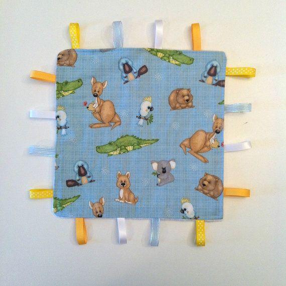Handmade Australian Taggie Minky Blanket