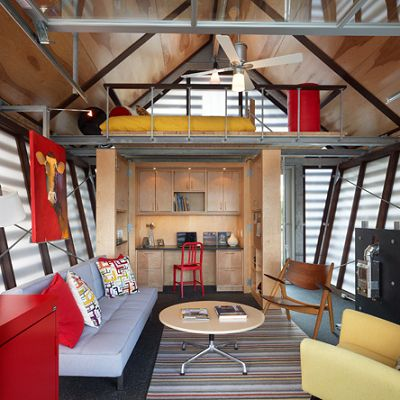 Tiny House Nation Interior