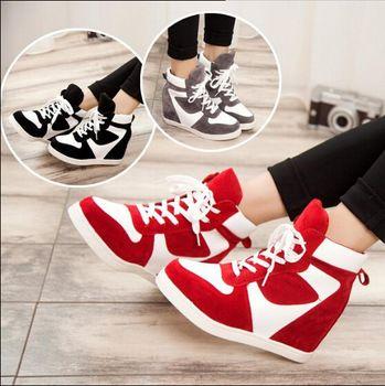 2015 nuevo otoño caliente zapatos mujeres casuales zapatos zapatillas moda mujeres zapatos botines plataformas zapatos ba118