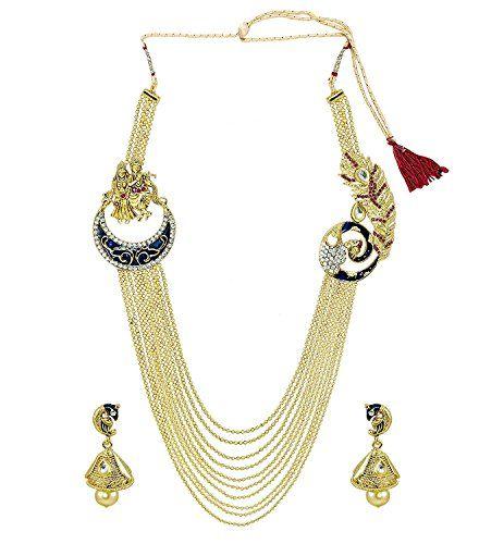 Ddivaa Elegant Indian Bollywood Rajwada style gold plated... https://www.amazon.com/dp/B0711LHXWX/ref=cm_sw_r_pi_dp_x_RAugzbM9PMKTQ