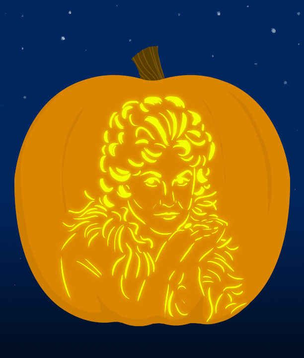 18 Insanely Clever Pop Culture Stencils To Up Your Pumpkin