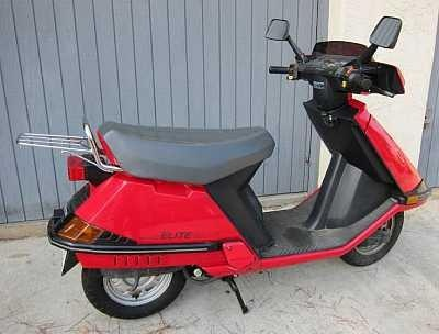 1980's Honda Scooter- I purchased a white one for my daughter around 2006... Great MPG!!!