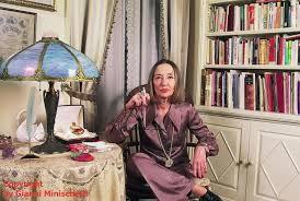 Oriana Fallaci nella sua casa di New York