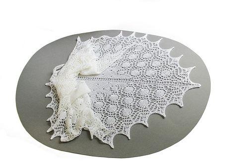 Dew Drop Wrap Free Crochet Pattern : Dew Drops Shawl by Bex Hopkins - free DENTELLE - LACE ...