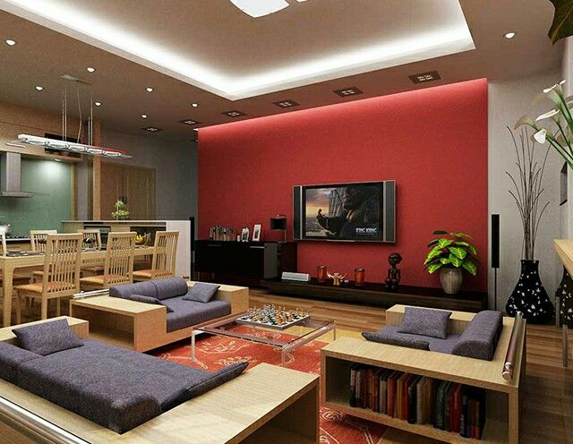 33 best Amazing Inspiring Red Living Room for Your Home ...