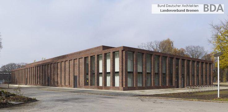Sports and conventioncenter Jacobs University_Max Dudler Architekt_Bremen