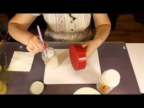 Видео мастер-класс по декупажу первой вашей шкатулки, а также о минимальном наборе материалов и инструментов для декупажа - Ярмарка Мастеров - ручная работа, handmade
