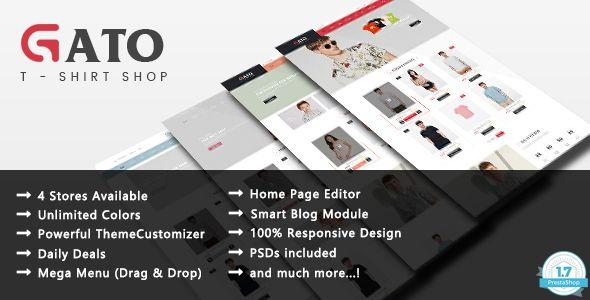 Gato Theme - Fashion Responsive Prestashop 1.7 Theme
