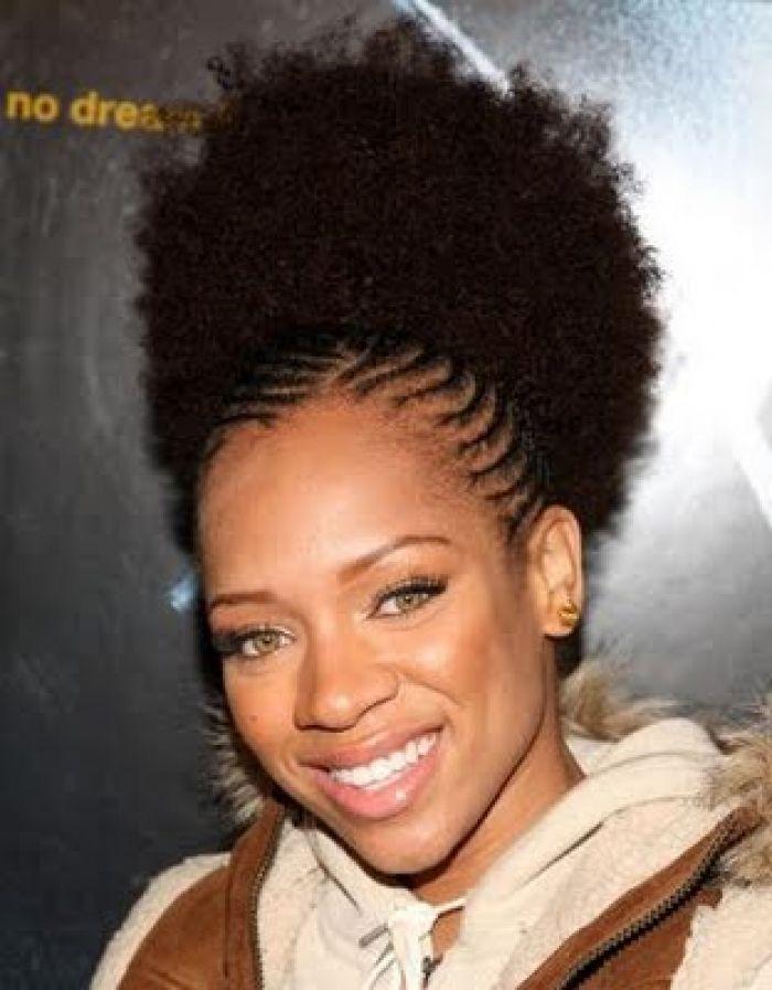 black natural hair styles   Women Hairstyle Designs Short Natural ...